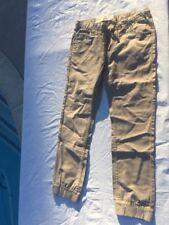 New Boy's Levi's Jeans Jogger Pants Khaki Slim Elastic Cuff
