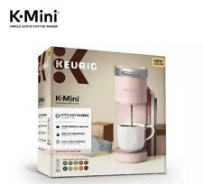 "Keurig K-Mini Single K-Cup Pod Coffee Maker, 5"" wide, Brew 6-12oz New-Seal Torn"