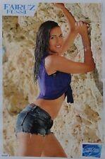 FAIRUZ FUSSI - A3 Poster (ca. 42 x 28 cm) - DSDS Clippings Fan Sammlung NEU