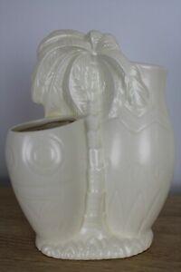 Beswick Ware England 1269 Palm Tree Vase Tiki bar