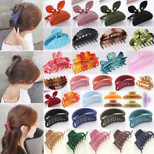 Women Octopus Claw Hair Clip Hairpin Accessory Curved Design Heart Shape Handle