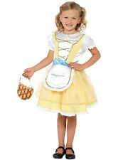 Kids Childrens Goldilocks Costume - Traditional FairyTale Girls Fancy Dress