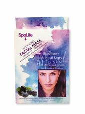 Spa Life Blueberry and Acai Berry Minerals Face Mask 3 Treatment Piel Cara Skin