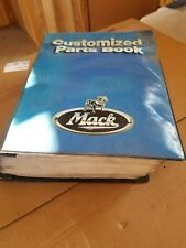 Mack Truck Rd688S Master parts book