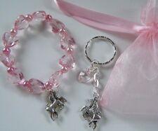 Unicorn Party Bag Filler Charm Bracelet Keyring Girls Birthday Gift Favor