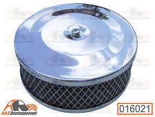 FILTRE air chromé carburateur simple corp de Citroen 2CV DYANE MEHARI  -16021-