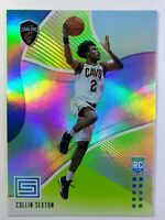 2018-19 Panini Status Green Collin Sexton Rookie RC #124, Cleveland Cavaliers
