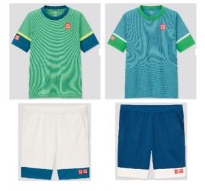 UNIQLO × Kei Nishikori 21FRA Tennis Game Polo Shirt & Short Pants Collection