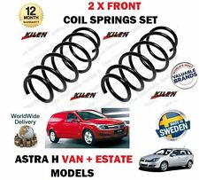 FOR VAUXHALL OPEL ASTRA VAN H 2.0 TURBO + 1.7 CDTI 2004->2 X FRONT COIL SPRINGS