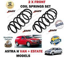 Per Vauxhall Opel Astra Van H 2.0 Turbo + 1,7 il CDTI 2004 - > 2 X Anteriore Molle A Spirale