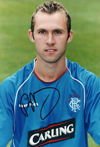 Thomas Buffel, Rangers & Belgium, signed 12x8 inch photo. COA.