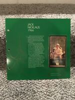 Jack Nicklaus Gold Foil 1998 GSV Champions Of Golf Masters 1966 Champ Full Page