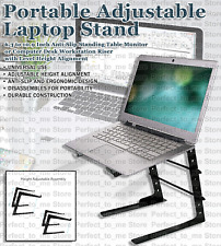 New listing Portable & Adjustable Laptop Stand 6.3 to 10.9 Inch Anti-Slipping Standing Table