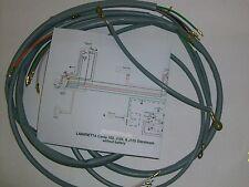 IMPIANTO ELETTRICO ELECTRICAL WIRING LAMBRETTA CENTO/STELLINA /J125+SCHEMA