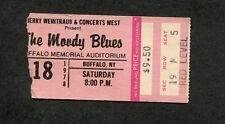 Original 1978 Moody Blues concert ticket stub Buffalo Ny Octave