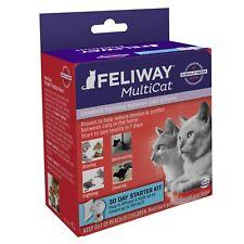 Feliway Multicat 30 Day Starter Kit Plug In Diffuser & Refill 48 ml