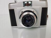 Vintage Franka Frankarette Vintage 35mm Film Camera + Case -  FOR REPAIRS/PARTS
