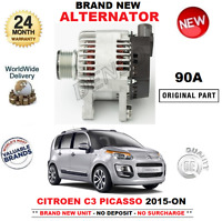 FOR CITROEN C3 Picasso 1.2 THP 110 2015-ON BRAND NEW 90A ALTERNATOR Engine EB2DT