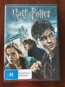 Harry Potter and the Deathly Hallows Part 1 Movie DVD Region 4 AUS