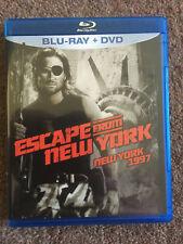 Escape From New York (John Carpenter, 1981) region A MGM Blu-ray & DVD, Cult