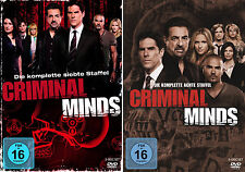 Criminal Minds - Die komplette 7. + 8. Staffel                       | DVD | 444
