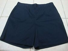 Girls IZOD ED.com navy blue shorts, 18 1/2 plus