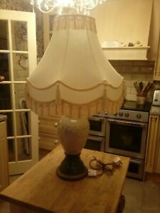 BEAUTIFUL TRADITIONAL LARGE TABLE LAMP AND SHADE