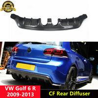 Golf 6 R Rear Diffuser Lip Spoilers Carbon for Volkswagen Golf MK6 R E Style
