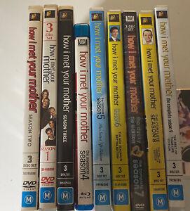 How I Met Your Mother Seasons 1-9 (27 Discs DVD Box Set Blu Ray ) Complete