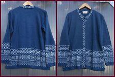 Damen-Pullover & -Strickware aus Wolle mit Norweger-Muster und Knöpfen