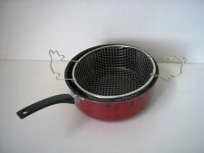 Friggitrice Pentola con Cestello inox fritture patatine  frittelle