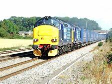 British Rail / DRS 37259 & 37607 Daventry to Wentloog Tesco Express Rail Photo