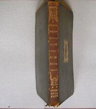Arnold, Matthew Poems Narrative Elegiac & LyricTemple Classics 1903  Leather