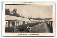 Postcard Refugee Barracks Golden Gate Park San Francisco CA 1906 Earthquake G27