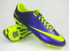 Nike Mens Rare Mercurial Vapor IX FG 555605 570 Purple Yellow Cleats Size 9.5
