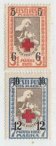 ESTONIA  1926  ISSUE UNUSED FULL SET MICHEL  60/61