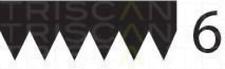 Keilrippenriemen TRISCAN 8640601088 für AUDI BMW FIAT HONDA ISUZU SEAT SKODA VW