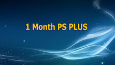 1 Month PS Plus PS4-PS3 -Vita ( NO CODE )