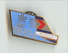 Canadian Airlines Olympic Games Calgary 1988 Badge