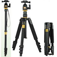 DSLR SLR Canon Nikon Sony Professional Camera Tripod Monopod Ball Head Universal