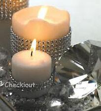 "4.5"" x 6ft Wedding Decoration Supplies Rhinestone Diamond Wraps Mesh Ribbon"