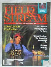 Field & Stream Magazine February 1992 New Look at Crankbaits Winter Hunting