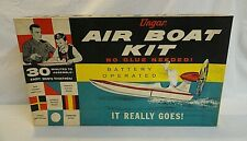 Rare! Circa Early 1960`S Ungar Motorized Air Speed Boat Unbuilt Model Kit!