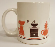 Vintage Historical Coffee Grinders Pot Model Style Coffee Mug B67