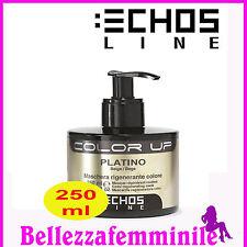 Maschera per capelli rigenera colore - Platino - Beige 250ml Echosline