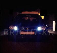 VW Golf MK4 MK5 Xenon Blanco Brillante TDI GTi Lado Luz LED Bombillas Libre De Errores