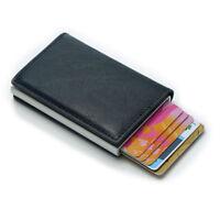 Anti-theft Tactical Wallet RFID Blocking Wallet Purse Money Cash Holder 2018
