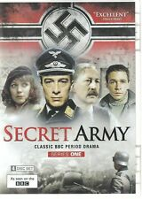 Secret Army: Series 1 (DVD -2014 - 4-Disc Box Set) BBC - Like New