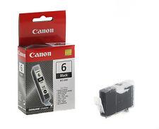 2 pièces ORIGINAL Canon cartouches d'imprimante BCI-6BK noir Neuf Emballage