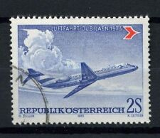 Aviation Used Austrian Stamps